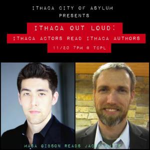 Ithaca Out Loud poster