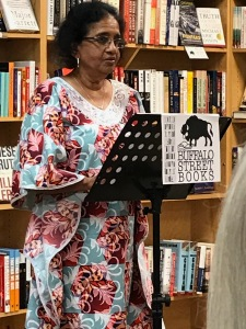 """Kanchana Ugbabe reads her story """"Blessing in Disguise."""""""